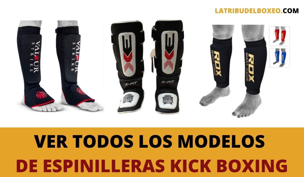 Espinilleras kick boxing