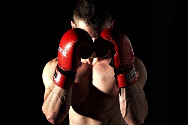 talla guantes de boxeo